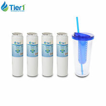 Fits Maytag UKF8001 4396395 EDR4RXD1 46 9006 Comparable Water Filter 4 Pack