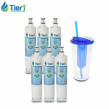Fits Whirlpool 4396508 4396510 EDR5RXD1 46 9010 Comparable Water Filter 6 Pack