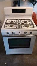 30  White Jenn Air Dual Fuel Range  Stove Oven Combo  Very good condition