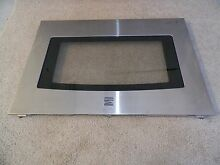 318304127 Kenmore Range Oven Outer Door Glass Panel Stainless