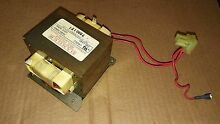 7AA74 GE SPACEMAKER XL MICROWAVE OVEN TRANSFORMER  120VAC   0 9   0 5   66 OHMS