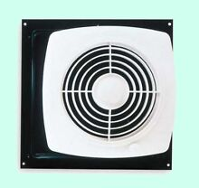 KITCHEN EXHAUST FAN Through Wall Ventilation Laundry Room Workshop w  Switch