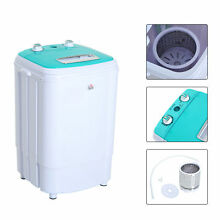 HOMCOM Mini Electric Portable Washing Machine Laundry Compact Washer