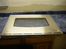 GE RANGE OVEN DOOR PANEL PART   WB56T10282