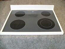 31921803WW AMANA RANGE OVEN MAIN TOP GLASS COOKTOP WHITE