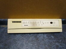 KENMORE DISHWASHER CONTROL PANEL PART  8530848