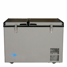 Whynter Dual Zone Portable 2 07 cu  ft  Chest Freezer