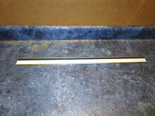 KENMORE REFRIGERATOR DOOR SHELF TRIM  26 5 8 DARK BLUE LINES PART  2163938