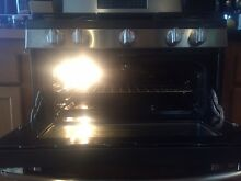 SOLD  GE  30  Free Standing Double Oven Gas Range with Convection   A Baker s D