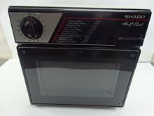 Vintage Sharp R 4060 Half Pint Microwave Oven Camping Office Dorm RV 400W 1985