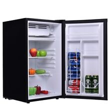 Mini 3 2 Cu Ft  Compact Refrigerator Fridge Dorm Cooler Beverage Freezer W