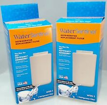 WSG 1  2 Pack Water Filter replaces GE  Hotpoint