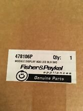 478106P FISHER PAYKEL DISPLAY MODULE  NEW