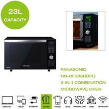 New Panasonic NN DF386BBPQ 3 in 1 Combination Microwave Oven   Grill   Black