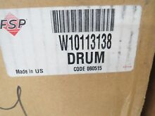 W10113138 Whirlpool Dryer Drum  NEW