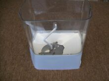 2212368 KITCHENAID WHIRLPOOL REFRIGERATOR ICE CONTAINER ASSEMBLY 2198646