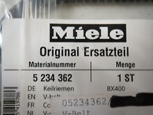 05234362 Miele Dryer V Belt  NEW