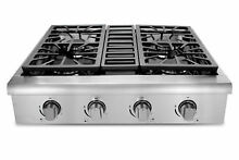 Thor Kitchen Professional 30  Gas Cooktop with 4 Burners