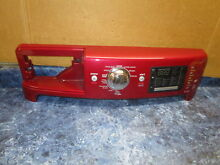 MAYTAG WASHER CONSOLE RED PART  W10369607 W10604648