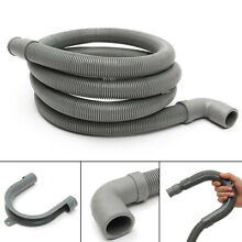 78 7  Length Flexible Elbow Drain Hose With Bracket For Washer Washing Machine