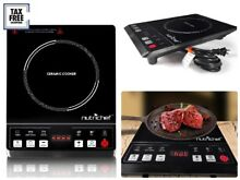 Electric Cooktop Burner Infrared Ceramic Glass Hot Plate Cooking Stove with LCD