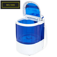 Best Choice Products Portable Compact Mini Twin Tub Washing Machine and Spin Cyc