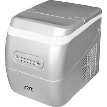 Sunpentown Portable Ice Maker  Silver