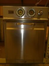 1950 s Vintage Hotpoint General Electric Wall Oven Stainless Steel