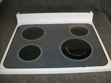 WB62T10026 GE RANGE OVEN MAIN TOP GLASS COOKTOP WHITE