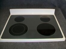 W10177371 WHIRLPOOL RANGE OVEN MAIN TOP GLASS COOKTOP BISQUE