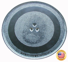 GE Microwave Glass Turntable Plate   Tray 13 1 2  WB49X10114