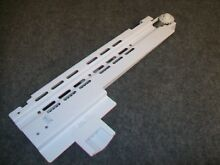 WR72X10385 GE REFRIGERATOR FREEZER DOOR RAIL LEFT SIDE