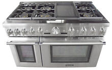 Thermador Pro Grand Professional Series PRD486JDGU 48  Pro Style Dual Fuel Range