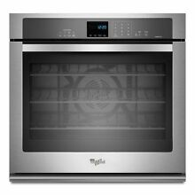 Whirlpool GOLD WOS92EC0AS Stainless 30  Convection 5 0 Single Electric Wall Oven