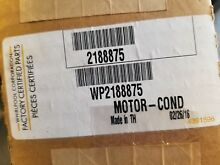 New WP2188875 For Whirlpool Refrigerator Condenser Fan Motor