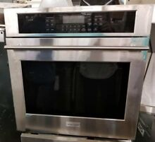 GE MONOGRAM 27 INCH SINGLE STAINLESS WALL OVEN