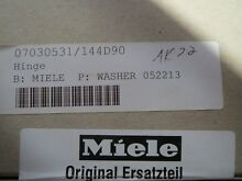07030531 Miele Washer Hinge  NEW