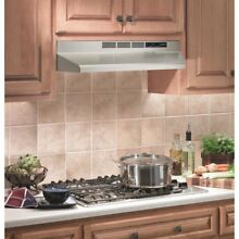 Stove Range Hood 30  Stainless Steel Non duct Ductless Kitchen Cooking fan filte