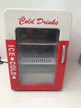 Soda Cola Refreshing Cold Drinks Mini Refrigerator Fridge Man Cave   Heater