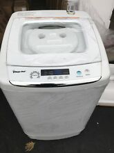 Magic Chef MCSTCW09W1 Small Compact 0 9 Cu Ft Portable Washing Machine 120 Volt