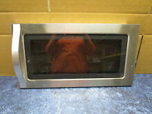 WHIRLPOOL MICROWAVE DOOR STAINLESS PART  W10468671