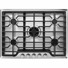 KitchenAid KCGS350ESS 30  Gas Cooktop w  5 Burners   Stainless Steel
