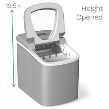 Ice Maker Machine Small Electric Instant Clear Cube Portable Camping Travel NEW