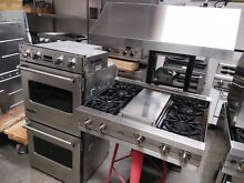 36 VIking Professional rangetop and 27 double oven and NXR 600cfm hood