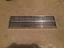 JENN AIR Vintage Chrome Center Grill Vent cover Free Shipping