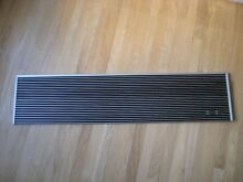 SUB ZERO  48  x 11  top louvered grill for 500 series  very clean