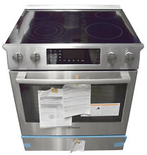 Bosch Benchmark Series HEIP054U 30  Slide in Electric Range