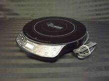 NuWave PIC Titanium 1800W Portable Induction Cooktop Countertop Burner used