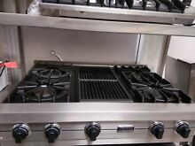 Viking Professional   vgic  rangetop 36 CHARGRILL FOR STEAK AND VEGGIE LOVERS