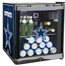 Glaros NFL 1 8 cu  ft  Beverage Center Dallas Cowboys